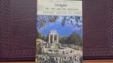 GRECIA - DELPHI - SITUL SI MUZEUL - 32 DE FOTOGRAFII CU EXPLICATII IN 4 LIMBI,