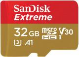 Card de memorie Sandisk Extreme 32GB MicroSDHC Clasa 10 UHS-I U3