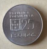 Portugalia 25 escudos 1977 Liberdade democracia, Europa