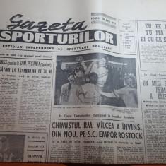gazeta sporturilor 29 ianuarie 1990-handbal feminin chimistul ramnicu valcea