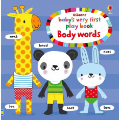 Baby's very first playbook body words - Carte Usborne (0+)