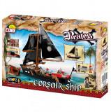 Set de construit Cobi, Pirates, Corsair Ship (320 pcs)