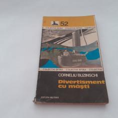 DIVERTISMENT CU MASTI  COLECTIA SFINX,NR 52