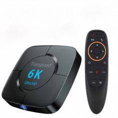 Mini PC, Transpeed, Android 9.0, TV Box, Media player, 4GB RAM, 64GB ROM