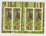 CANADA  2011  Anul international al padurilor- Ciuperci - Carnet cu 4 timbre MNH, Nestampilat