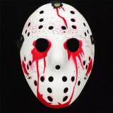 Masca Freddy krueger Vineri 13 Jason Voorhees masca carnaval halloween, Universal, Alb