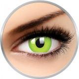 Glow Green - lentile de contact colorate verzi anuale - 360 purtari (2 lentile/cutie)