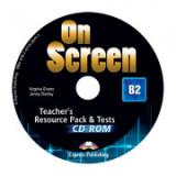 Curs limba engleza On Screen B2 Material Aditional pentru Profesor cu Teste CD - Virginia Evans, Jenny Dooley
