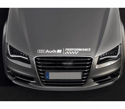 Sticker capota Audi foto