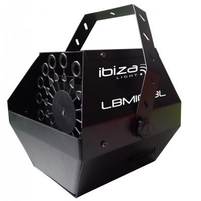 Masina de baloane portabila Ibiza 25W, baterie 2000mah, telecomanda foto