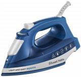 Fier de calcat Russell Hobbs Light & Easy Brights Sapphire 24830-56, 2400 W, 0.24 l, 90 g/min (Albastru/Alb)