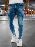 Blugi bleumarin bărbați skinny fit Bolf KX526