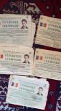 Cinci numere ziarul Cuvântul legionar ,nr.106,107,120,123si 134 se vând toate