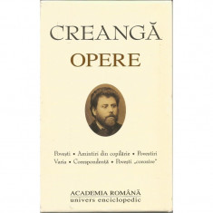 Ion Creanga - Opere - (Academia Romana)