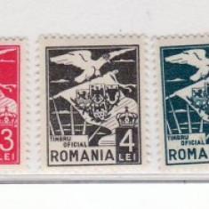Romania  1929   Vulturi  cu  steag
