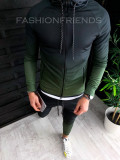 Trening barbati KAKI in DEGRADE PREMIUM - Bluza + Pantaloni - A2632