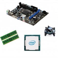 KIT Placa de baza (SHD) MSI H61M-P31(G3) + Intel Core i5-2500 + 8GB DDR3 1333Mhz