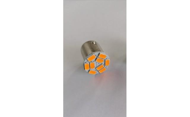 Set 2 becuri  led semnalizare portocali