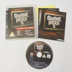 Joc Sony Playstation 3 PS3 - Guitar Hero 5