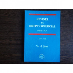 REVISTA DE DREPT COMERCIAL SERIE NOUA, IN MEMORIAM OCTAVIAN CAPATANA