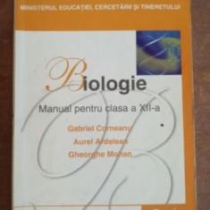 Biologie. Manual pentru clasa a XII-a - Gabriel Corneanu, Aurel Ardelean