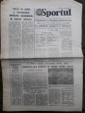 Ziarul Sportul din 17 septembrie 1977