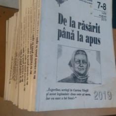 """Colecție - Revista """"De la răsărit până la apus"""" 22 Nr. 2011-2019 (în descriere)"""
