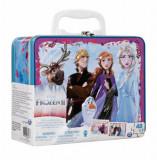 Cumpara ieftin Set 2 puzzle-uri Frozen 2, in gentuta metalica, Spin Master