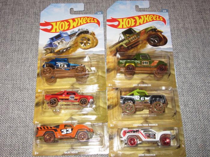 Lot Hot Wheels - set Offroad Trucks 1:64