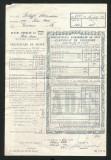 T484 CERTIFICAT DE ASIGURARE 1964 RPR SATU-MARE