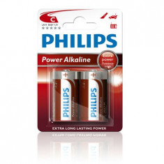 BATERIE ALCALINA LR14 POWERLIFE BL 2B PHILIPS