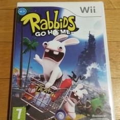 WII Rabbids go home original PAL / by Wadder, Actiune, 3+, Multiplayer, Ubisoft