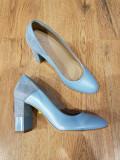 LICHIDARE STOC! Superbi pantofi dama noi piele naturala fina bleo comozi 36