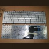 Tastatura laptop noua ASUS N55 N57 N55S N75 Silver (Without foil) US