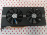 Placa video Sapphire Radeon RX 580, 4GB, GDDR5, 256 bit.