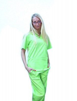 Costum medical praz electric – unisex foto