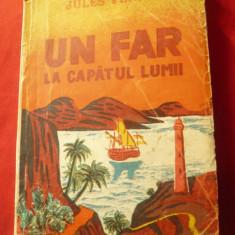Jules Verne - Un Far la capatul lumii - Ed. Secolul XX ,cca.1933, 160 pag