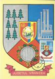 TSV - MAXIMA VRANCEA - STEMA JUDETULUI HERALDICA `78 STAMPILA 2