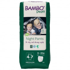 Scutece de noapte Bambo Nature Dreamy Boy, 15-35 Kg, 10 buc