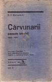 CARVUNARII - POVESTE ISTORICA - D.V. BARNOSCHI