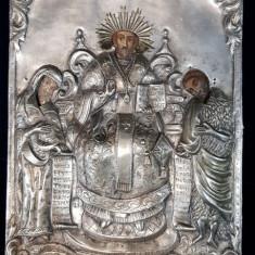 Icoana Romaneasca cu ferecatura din argint