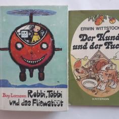 Lot 8 carti de povesti pentru copii, in limba germana / C3P