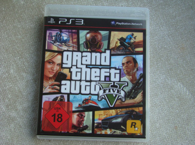 Joc PS 3 - Grand Theft Auto 5 / PS3 foto