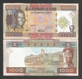 GUINEEA  GUINEA 1000 1.000  FRANCI  FRANCS  2010 - UNC - P-43 ,  COMEMORATIVA