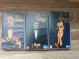 Lot filme casete video VHS - Trilogia The Godfather