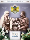 Centenarul Marii Uniri - COLITA DANTELATA, Nestampilat