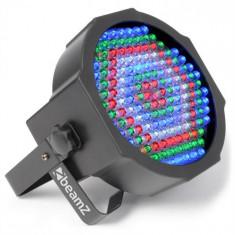 Beamz LED FLATPAR 154, rgbw, reflector led, control ic