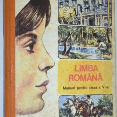 Manual pentru clasa a VI-a Limba Romana - 1991, Clasa 6