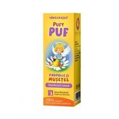 Pufy Puf Propolis cu Musetel Fara Alcool Spray 20ml Dacia Plant Cod: dacp.00730