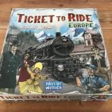 Ticket to Ride Europe + extensie Europa 1912